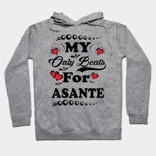 My Asante Chart My Heart Beats For Asante Tee