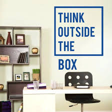 inspirational office pictures. Inspirational Office Decor Motivational Decoration Think Outside The Box Quotes Wall Decal Art . Pictures