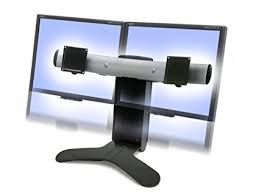 Ergotron Lx Triple Display Lift Stand Review Amazon Ergotron LX Dual Display Lift Stand Office Products 6