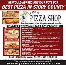 we would appreciate your vote forbest pizza in story countyspring over for these great deals