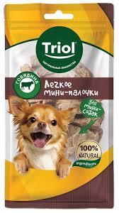 Сухой корм для собак <b>Triol Легкое говяжье</b> мини-палочки 30г ...