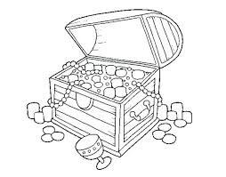 Coloring Treasure Chest Coloring Pages Page Medium Size Of Free
