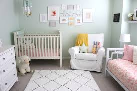... Mint and Pink Nursery