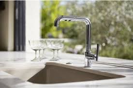 kohler k 7505 cp purist primary pullout kitchen faucet polished chrome