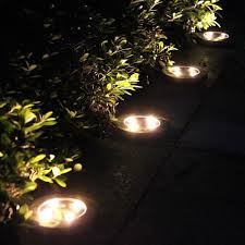 in ground lighting. Inspire Uplift Warm White / 2 Leds LED Solar Powered In-Ground Lights  In Ground Lighting