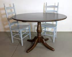 48 round farm table with cottage pedestal