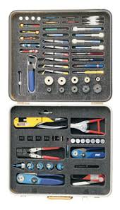 aircraft connector tool kits foam inserts
