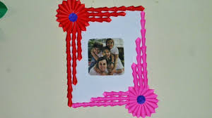 art framing ideas. DIY EASY ( Photo Frame/ Gift Idea ) Made With ONLY PAPER   Art Strategy - YouTube Framing Ideas