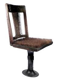 uncomfortable chair. Plain Chair Chair Of Nails  The Worlds Most Uncomfortable With M
