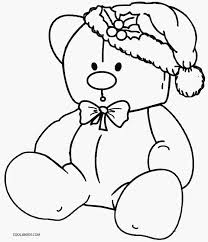 Small Picture Printable Teddy Bear Coloring Pages For Kids Cool2bKids