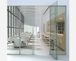 the real measurements of the frameless glass doors should be taken so as to choose the door that fits well and makes your room have a cool feeling