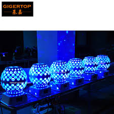 tiptop tp e13 12x3w rgbw led rotate lantern light stage special effect light white color