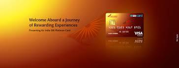 Air India Sbi Platinum Credit Card Apply Now Sbi Card