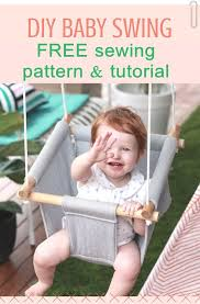 free diy baby swing pattern and