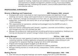 Event Manager Resume Resume Event Planner Resumes Unusual Event Planning Resume Wedding 56