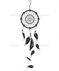 Simple Dream Catcher Tattoos Stunning Simple Dream Catcher Tattoos Vectors TATTOO Pinterest Dream