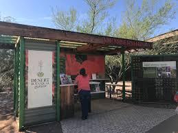 desert botanic garden membership and admission desk