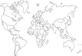 Image Of Blank World Map Looking For A Printable Coloring Map Of The