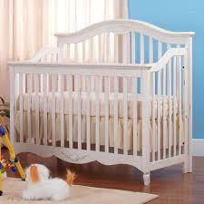 eden baby tiffany convertible crib in milan antique white free