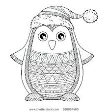 Printable Penguin Coloring Pages Penguin Printable Coloring Pages