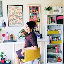 creative home office. A Charming Project- Tour Of My Creative Space And Few Home Office Tips