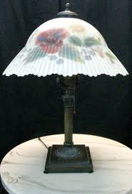reverse painted lamp shades reverse painted lamp shade dale tiffany reverse painted lamp shades