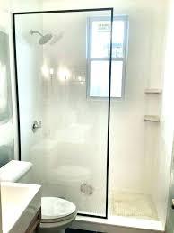 shower splash guard walk in curtain liner clip home depot
