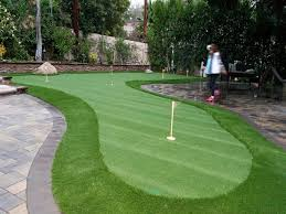 build a putting green in backyard outdoor goods