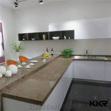 kkr resin stone kitchen countertops solid surface kitchen tops