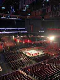 Wells Fargo Wwe Raw Seating Chart Wells Fargo Center Section 211 Row 1 Home Of Philadelphia