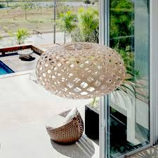 kina wooden lamp design david trubridge new zealand pendant lampshade lighting in our