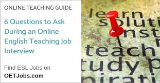 Questions To Ask At Job Interview 6 Important Questions To Ask During An Online English
