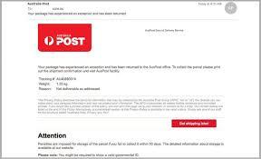 Cio Phishing Hits Inboxes Scam Auspost TRWxPZ7Z