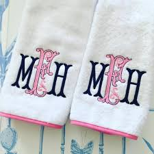 bath towel size. Piped Border Bath Towel Collection Size