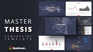 Master Thesis Powerpoint Template Slidemodel