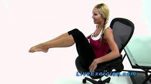 7 easy ways to exercise your abs while sitting wikihow exercises you can do at your desk for