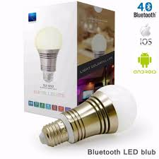 iphone controlled lighting. Bluetooth Smart LED Light Bulb Smartphone Controlled Dimmable Multicolored Color Changing Lights Works With IPhone IPad Apple-in Bulbs \u0026 Tubes From Iphone Lighting