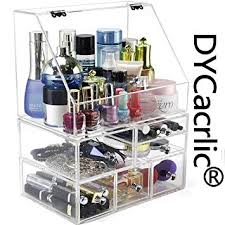 clear makeup organizer drawers extra large acrylic makeup organizers for counter xlarge storage box