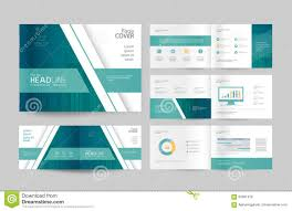 Business Profile Design Template Business Brochure Design Template And Page Layout For