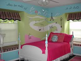 Paris Themed Tween Bedroom
