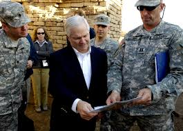 u s department of defense photo essay u s defense secretary robert gates receives a tour of one of the structures next to the