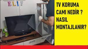 Televizyon ekran koruyucu,tv Ekran Koruyucu,koruma paneli,televizyon koruma  camı,tv camı - YouTube