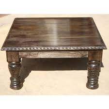 Image Of: Square Rustic Coffee Table Unique