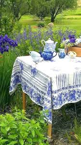 summer tablecloths umbrella tablecloth blue and white linens china outdoor summer picnic round tablecloths vinyl summer