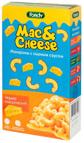 <b>Foody Mac&Cheese</b> Чеддер классический <b>макароны</b> с сырным ...