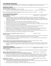 Resume Relationship Manager Resume