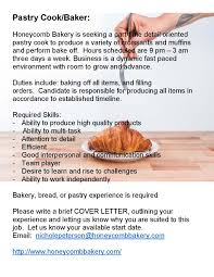 cover letter cook job