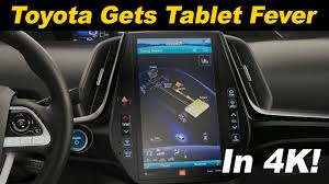 2017 Toyota Prius Prime 11-Inch Infotainment Review - YouTube