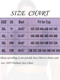 Walmart Sports Bra Size Chart Clothing Styles Fashion Casual Jackets In 2019 Plus Size