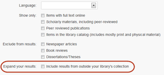 summon add results beyond your library s collection ex libris  user added image